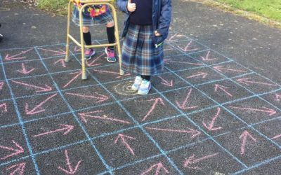 Math Challenges in Senior Infants and First Class.