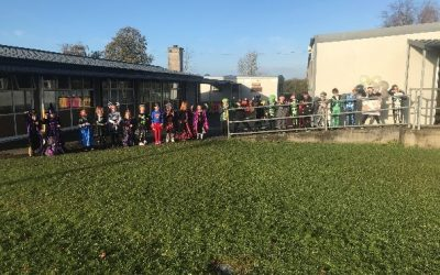 High Jink's at Halloween for Senior Infants and First Class.