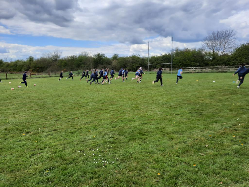Rugby training 5th6th
