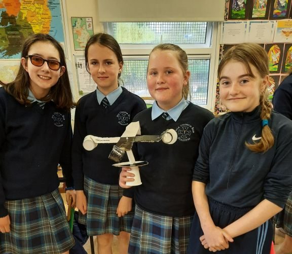 STEM – 5th and 6th Class Design and make Anemometers.