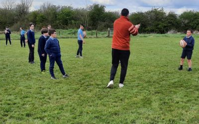 Rugby is back with a bang at Moycarkey N.S.
